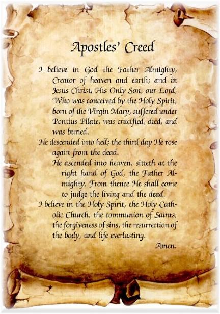 Apostles Creed
