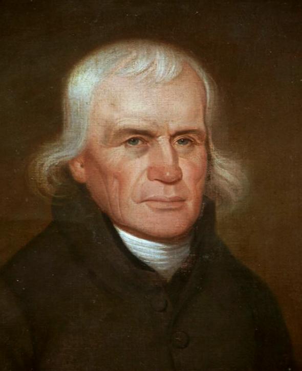 Asbury 1812 portrait by John Paradise