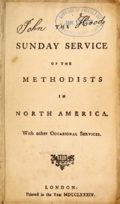 Sunday Service of the Methodists in North America