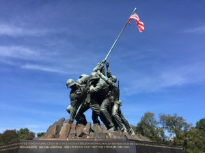 Iwo Jima Memorial at Arlington National Cemetery